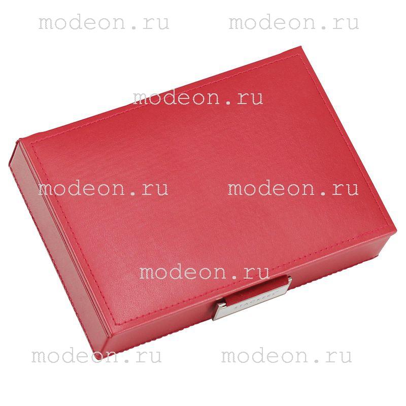 Шкатулка для ювелирных украшений Файли, красная