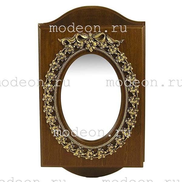 Ключница настенная Овальное зеркало, новая