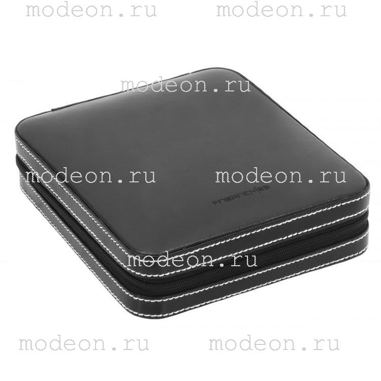 Шкатулка на для хранения запонок Молния, черная