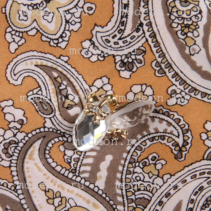 Подарочный набор на 8 Марта Платок и серьги, беж