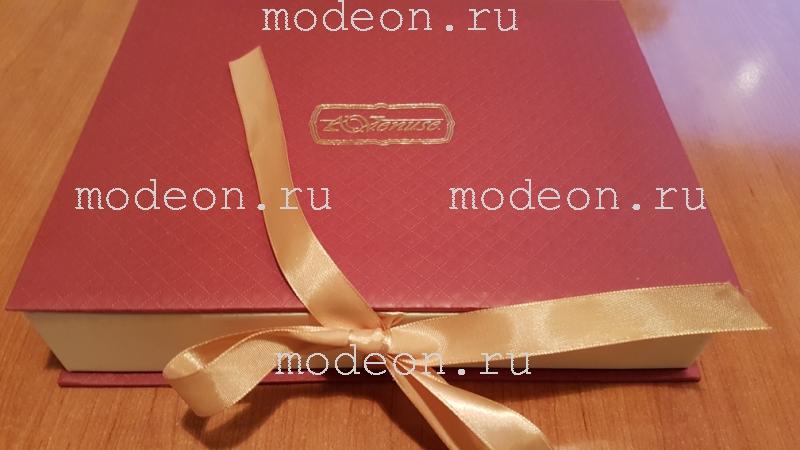 Подарочный набор на 8 Марта Платок и серьги, серо-голубой