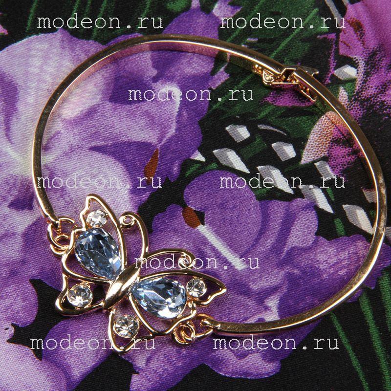 Подарочный набор для девушек Платок и браслет, фиолетовый