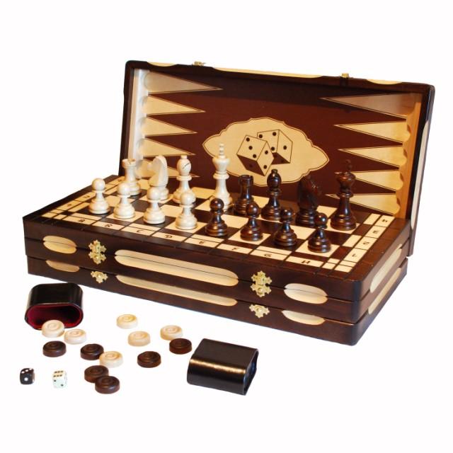 Шахматы, шашки, нарды Королевские