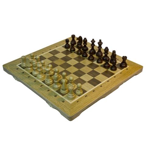 Шахматы, шашки, нарды Королевские, дубовые